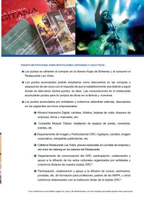 Promoción tarjeta GRC puntos3