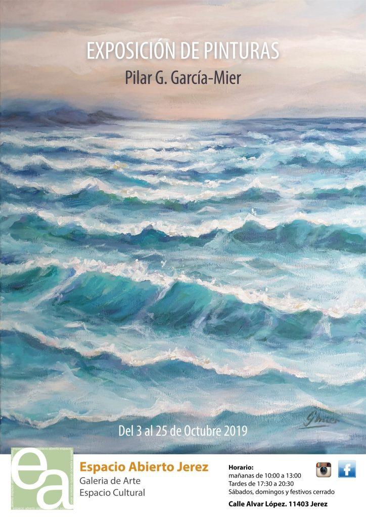 exposicion de pinturas de Pilar G. García-Mier