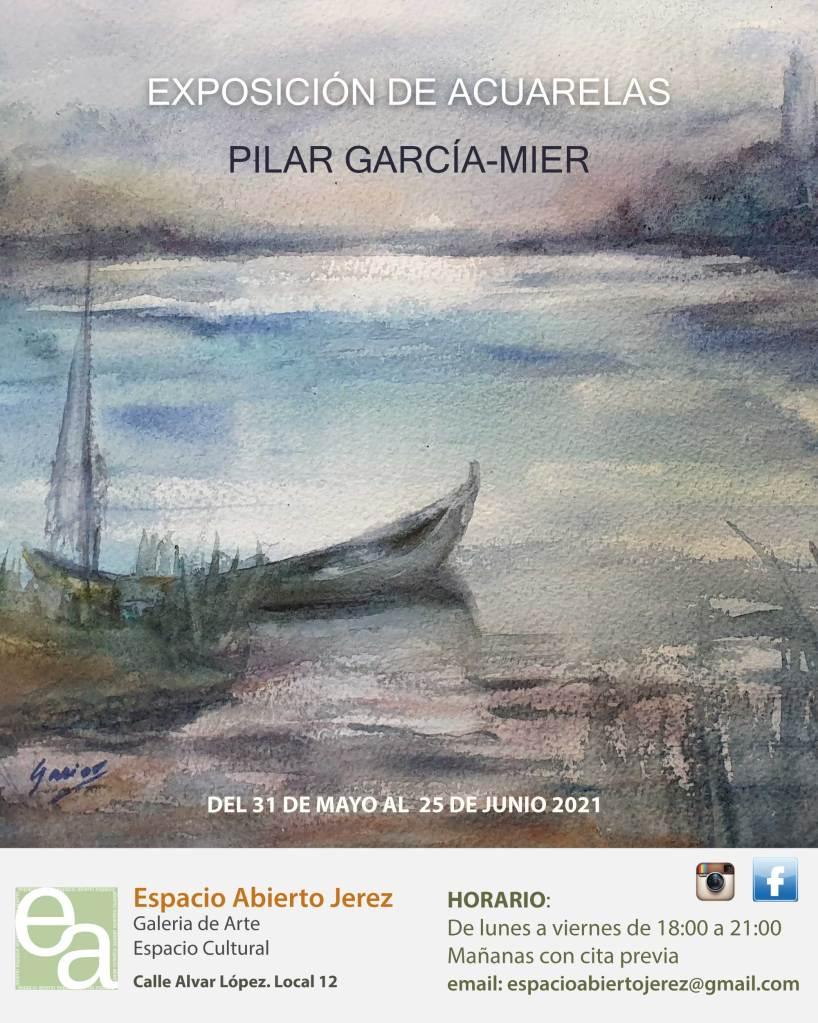exposición de Acuarelas en la galería de Arte Espacio Abierto Jerez